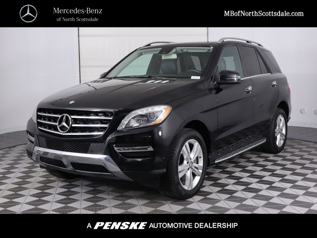Pre-Owned 2014 Mercedes-Benz M-Class ML 350