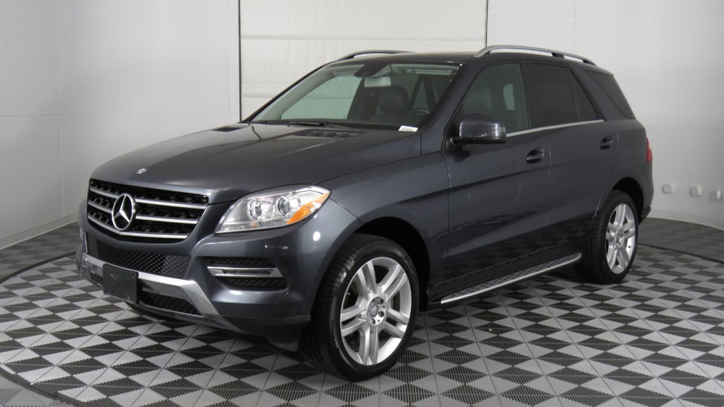 Certified Pre-Owned 2015 Mercedes-Benz M-Class 4MATIC® 4dr ML 350 All Wheel Drive 4MATIC® SUV