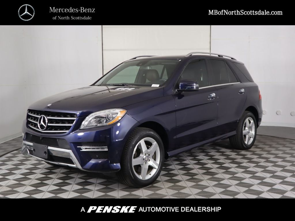Certified Pre-Owned 2014 Mercedes-Benz M-Class ML 350 Sport