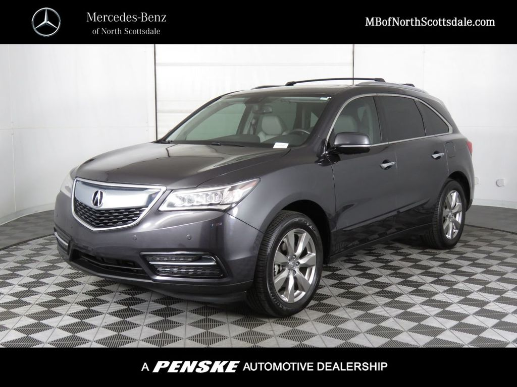 Pre-Owned 2014 Acura MDX FWD 4dr Advance/Entertainment Pkg