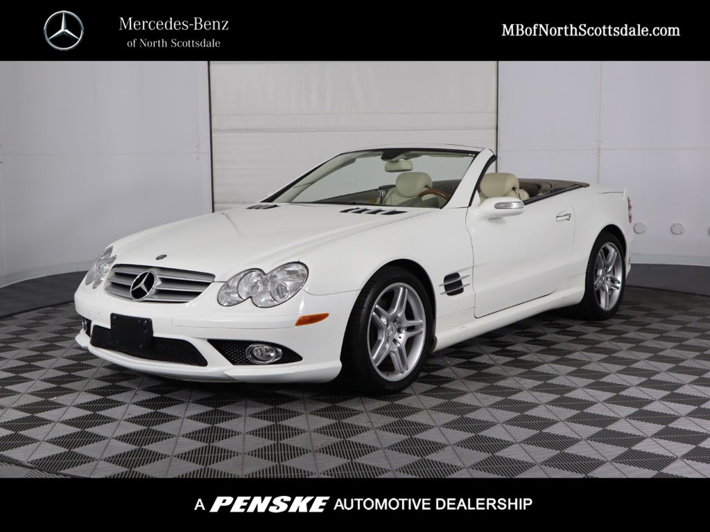 Pre-Owned 2007 Mercedes-Benz SL-Class SL 550