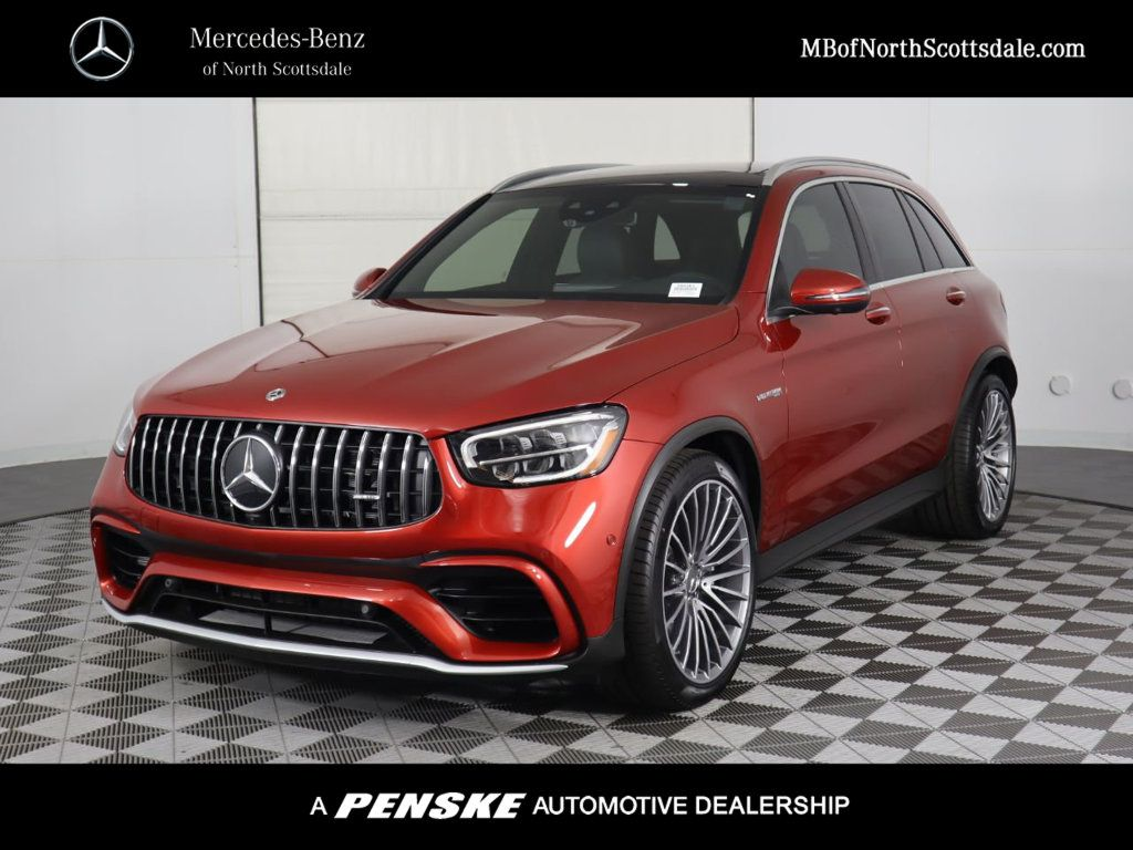New 2020 Mercedes-Benz GLC AMG® GLC 63 4MATIC+ SUV