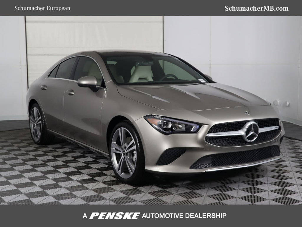 New 2020 Mercedes Benz Cla 250 Front Wheel Drive Coupe