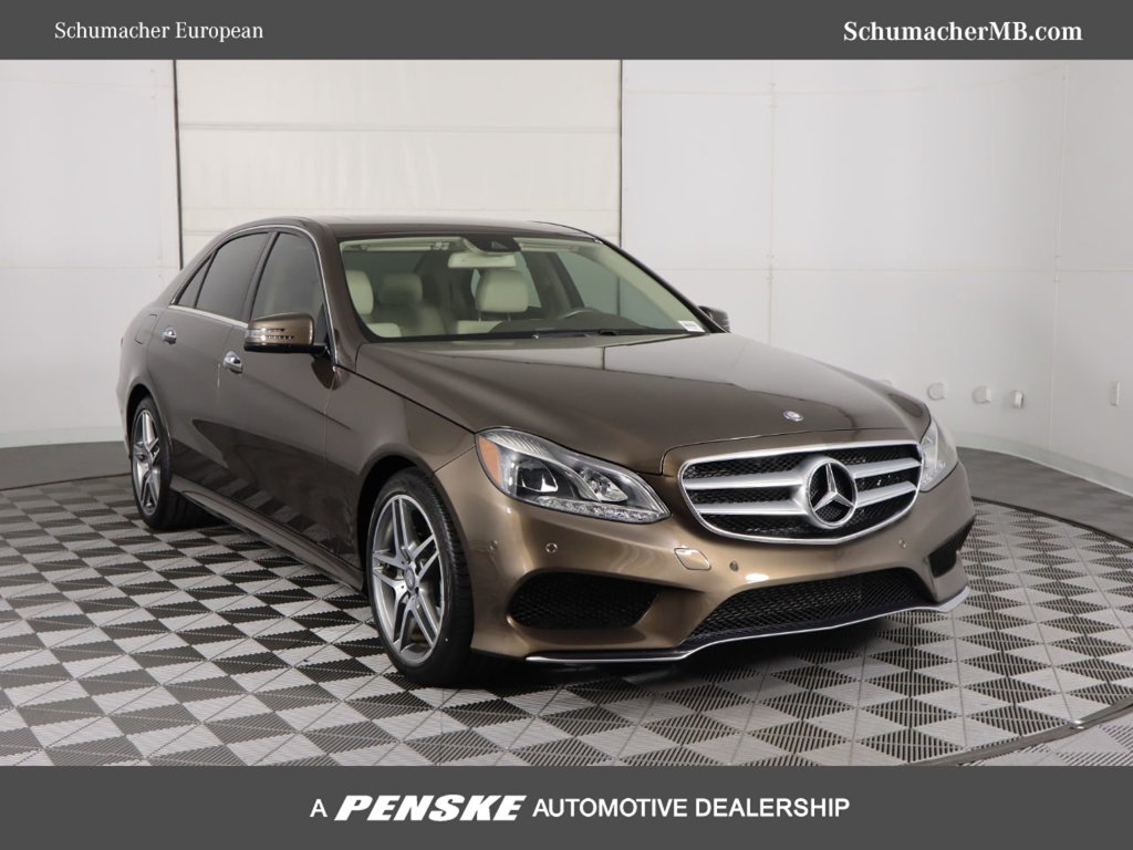 Certified Pre-Owned 2016 Mercedes-Benz E 400 Rear Wheel Drive SEDAN