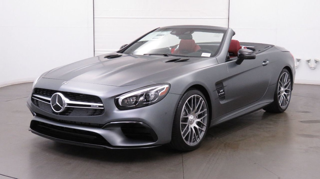 New 2018 Mercedes-Benz SL 63 AMG® Roadster With Navigation