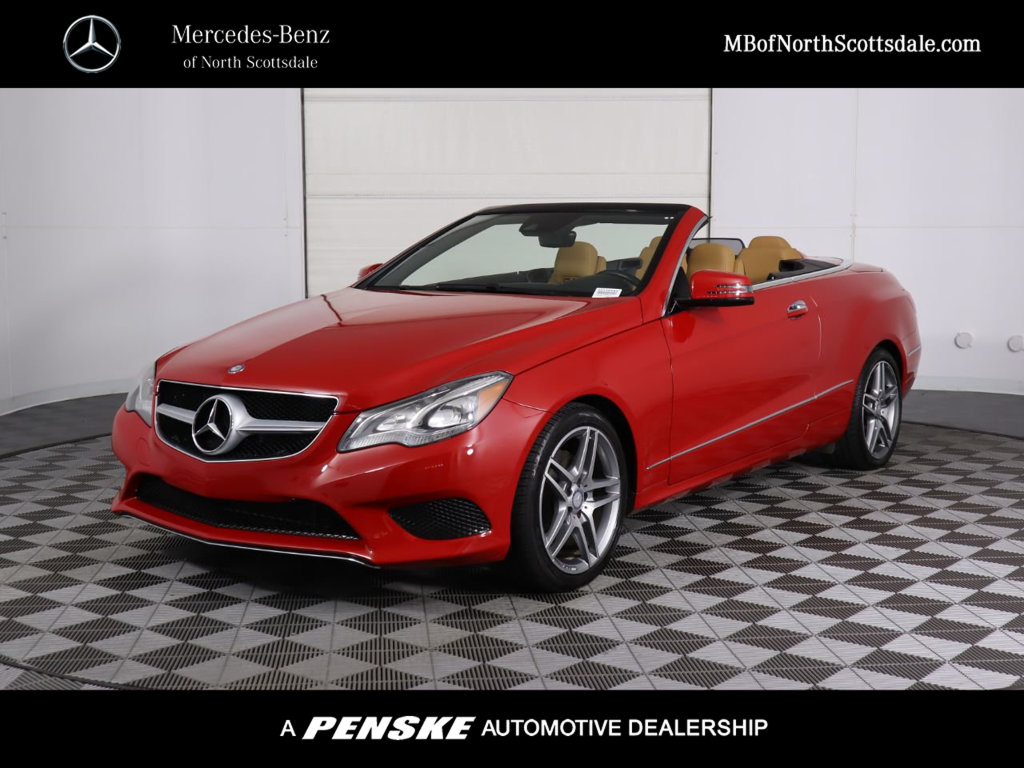 Pre-Owned 2014 Mercedes-Benz E-Class 2dr Cabriolet E 350 RWD