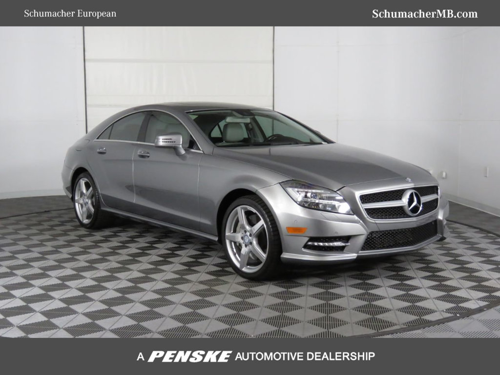 Certified Pre-Owned 2013 Mercedes-Benz CLS 4dr Sedan CLS 550 RWD
