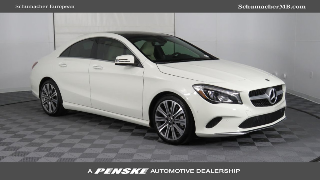 New 2018 mercedes benz cla cla 250 coupe in phoenix for Mercedes benz cla 2018 price