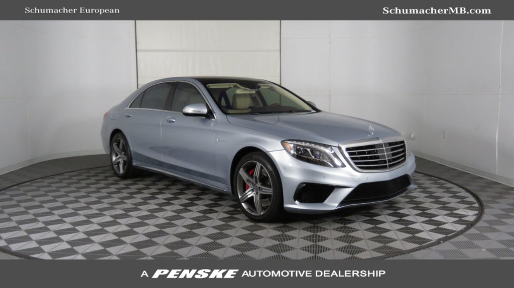 Certified Pre-Owned 2014 Mercedes-Benz S-Class AMG® S 63