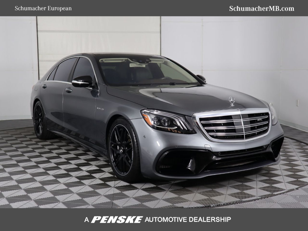 Certified Pre-Owned 2018 Mercedes-Benz S-Class AMG® S 63 4MATIC®
