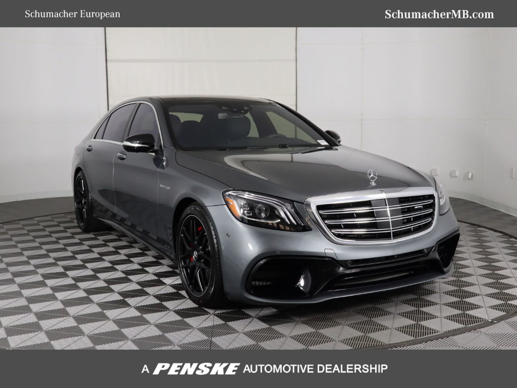 New 2019 Mercedes-Benz S-Class AMG® S 63 Long Wheelbase 4MATIC®