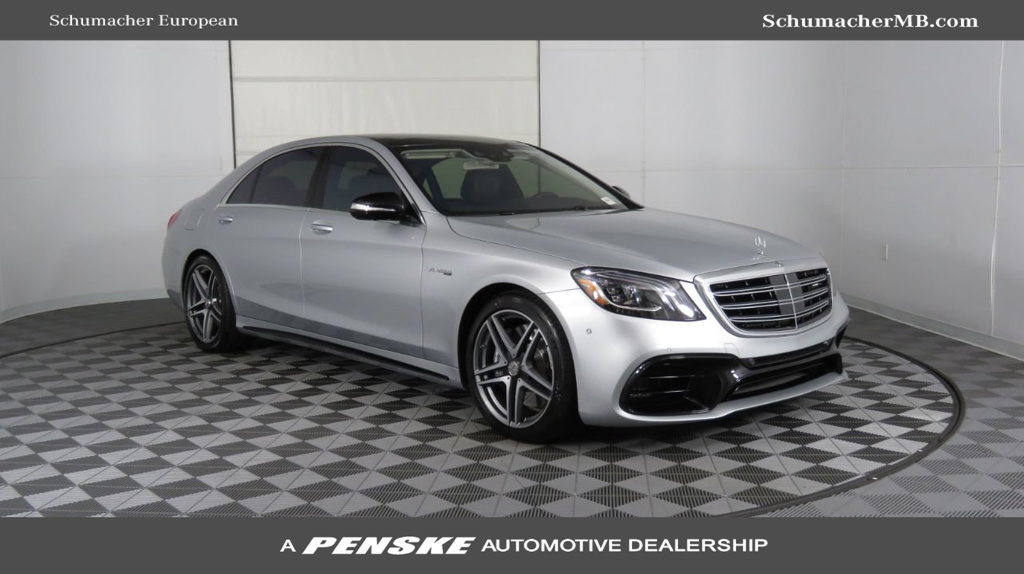 New 2019 Mercedes-Benz S-Class AMG® S 63 4MATIC® Sedan