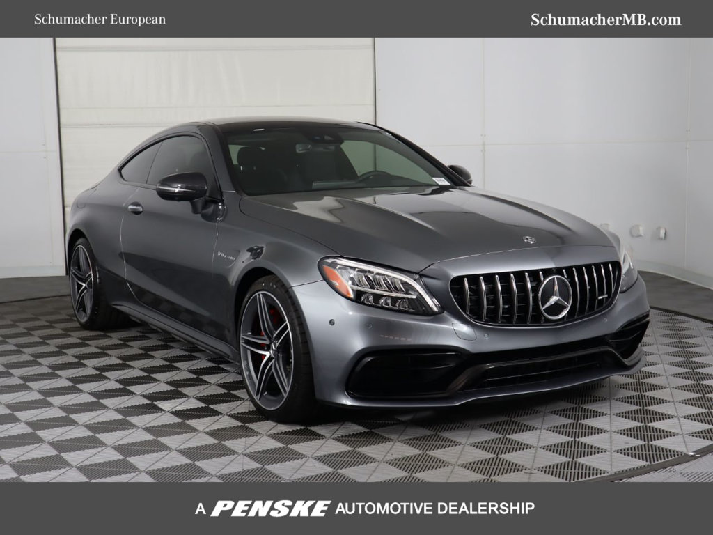New 2019 Mercedes Benz C Class Amg C 63 S Coupe Coupe In Phoenix