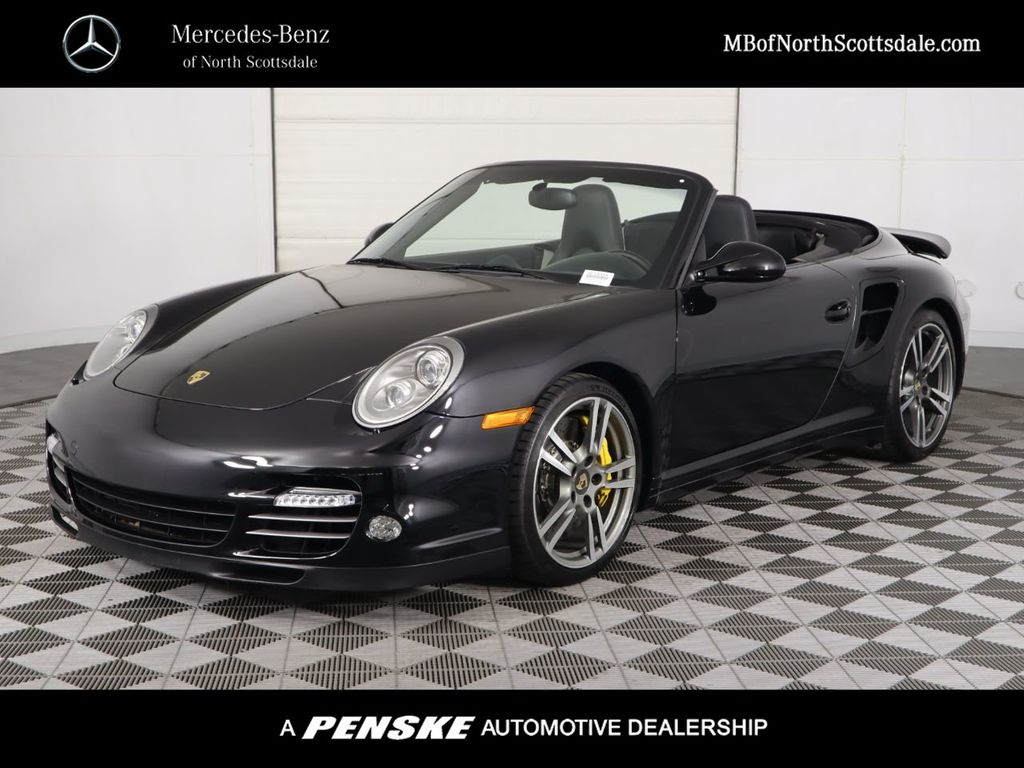 Pre-Owned 2012 Porsche 911 2dr Cabriolet S Turbo