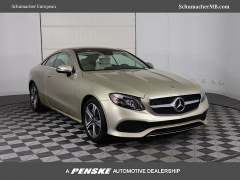 Certified Pre-Owned 2018 Mercedes-Benz E-Class E 400 RWD Coupe
