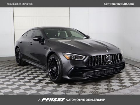 New 2019 Mercedes-Benz AMG® GT AMG® GT 53 4-Door Coupe