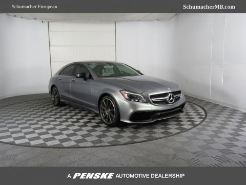 Certified Pre-Owned 2015 Mercedes-Benz CLS AMG® CLS 63 Performance