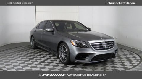 New 2019 Mercedes-Benz S-Class S 450 Sedan