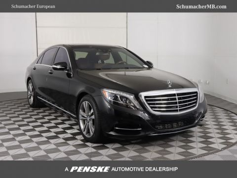 Pre-Owned 2015 Mercedes-Benz S-Class 4dr Sedan S 550 RWD