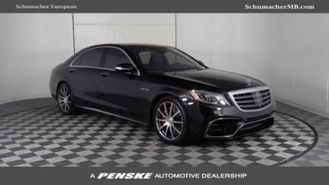 Pre-Owned 2018 Mercedes-Benz S-Class AMG® S 63 Long Wheelbase 4MATIC®